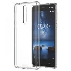 Siliconen Hoesje Transparant voor Nokia 8