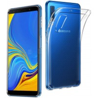 Silicon Case Transparant Galaxy A7 2018