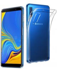 Silicon Case Transparant Galaxy A7 2018
