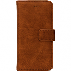 high Quality Boekhoes Bruin for Galaxy S6 Edge Plus