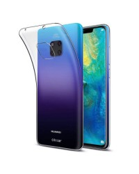 Siliconen Hoesje transparant voor Huawei Mate 20 Pro