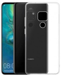 Siliconen Hoesje transparant Voor Huawei Mate 20