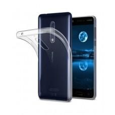 Siliconen Hoesje Transparant voor Nokia 3