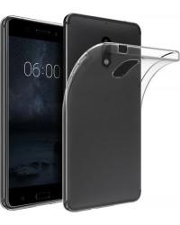 Siliconen Hoesje Transparant voor Nokia 6