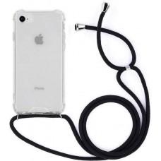 Pantser hoes met koord for iPhone 7 / 8 / SE (2020)
