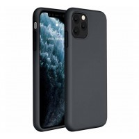 iPhone 11 Pro Max Zwart Silicon