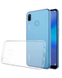 Siliconen Hoesje Transparant voor Huawei P20 Lite